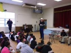 William Bowman presents anti-bullying program to Selma students
