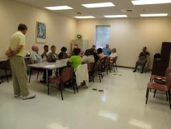 V.I.P. holds low vision support group meeting