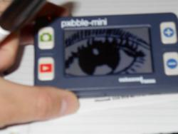 Pebble mini a good choice for portable magnifier