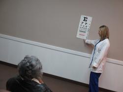 Glaucoma Eye Screenings held in Selma