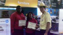 h.h. gregg employees given customer service awards