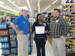 Selma's Wal-Mart Super Center Awards Grant to V.I.P.