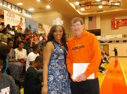 AUM Homecoming Queen Shares Positive Energy