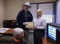 Dr. Joe Fontenot dedicated to helping the visually impaired