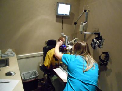 Free vision screening event a success in Selma