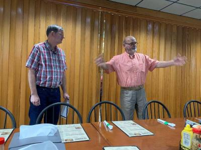 V.I.P. recognizes Jeff Harrison with Selma Food Bank