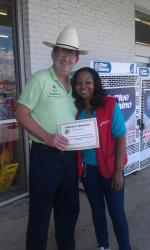 Marvin's employee honored for outstanding customer service