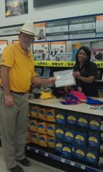 Walgreens employee recognized for her work with special needs customers