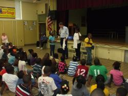 Anti-Bullying Presentation at Bruce Craig Elementary School
