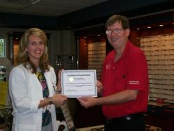 Dr. Ashley Williams dedicated to helping the visually-impaired
