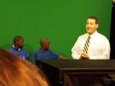 Cedar Park Elementary at WSFA-TV with meteorologist Jeff Jumper