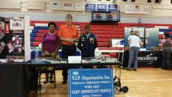 "V.I.P. participates in ""Get Fit"" health event"
