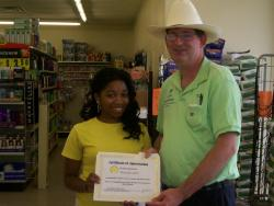 Dollar General worker cares about her V.I.P.'s