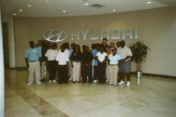 Special needs group get tour of Hyundai plant