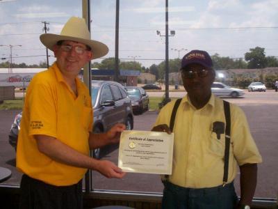 V.I.P. driver honored for longtime dedication