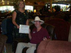 La-Z-Boy sales member awarded for outstanding customer service