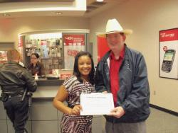 Ni'kesha Ferrell recognized for outstanding customer service