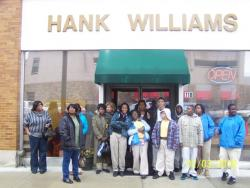 Field trip to Rosa Parks Museum and Hank Williams Museum