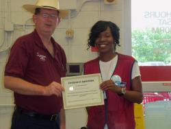 Lowe's employee recognized for outstanding customer service