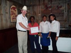 Red Lobster workers honored