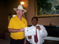 V.I.P. honors St. James Hotel Employee