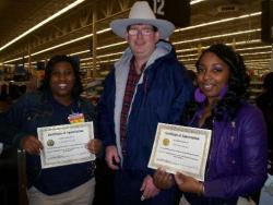 Wal-Mart workers rewarded