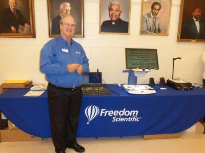 Mike Self of Freedom Scientific