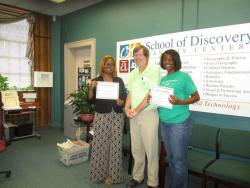 School of Discovery's principals honored
