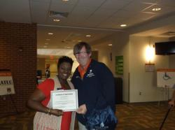 Auburn University Continuing Education worker recognized
