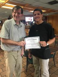 Dallas County high school senior receives award
