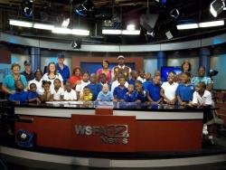 Cedar Park Elementary School students treated to special field trip to WSFA-TV