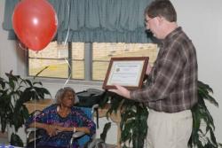 V.I.P. Helps Citizen Celebrate 100th Birthday