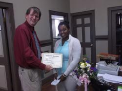 Sarah Robinson recognized for helping special needs community